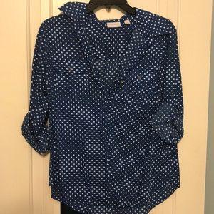 NY and Company Polka Dot blouse